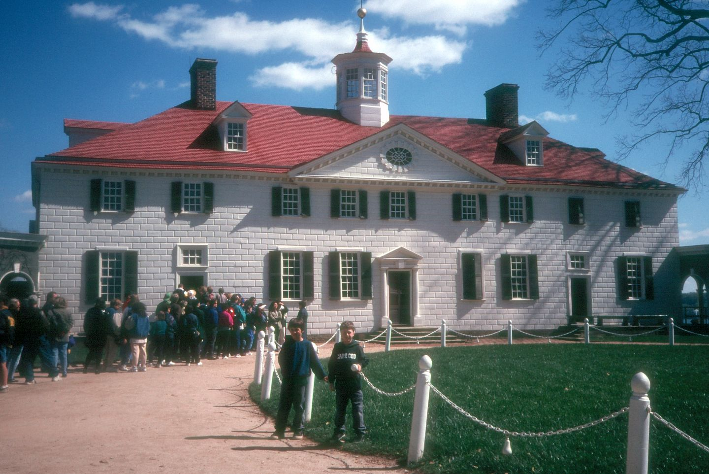 Boys at Mount Vernon