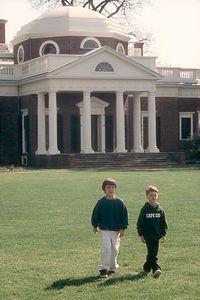 Boys at Monticello