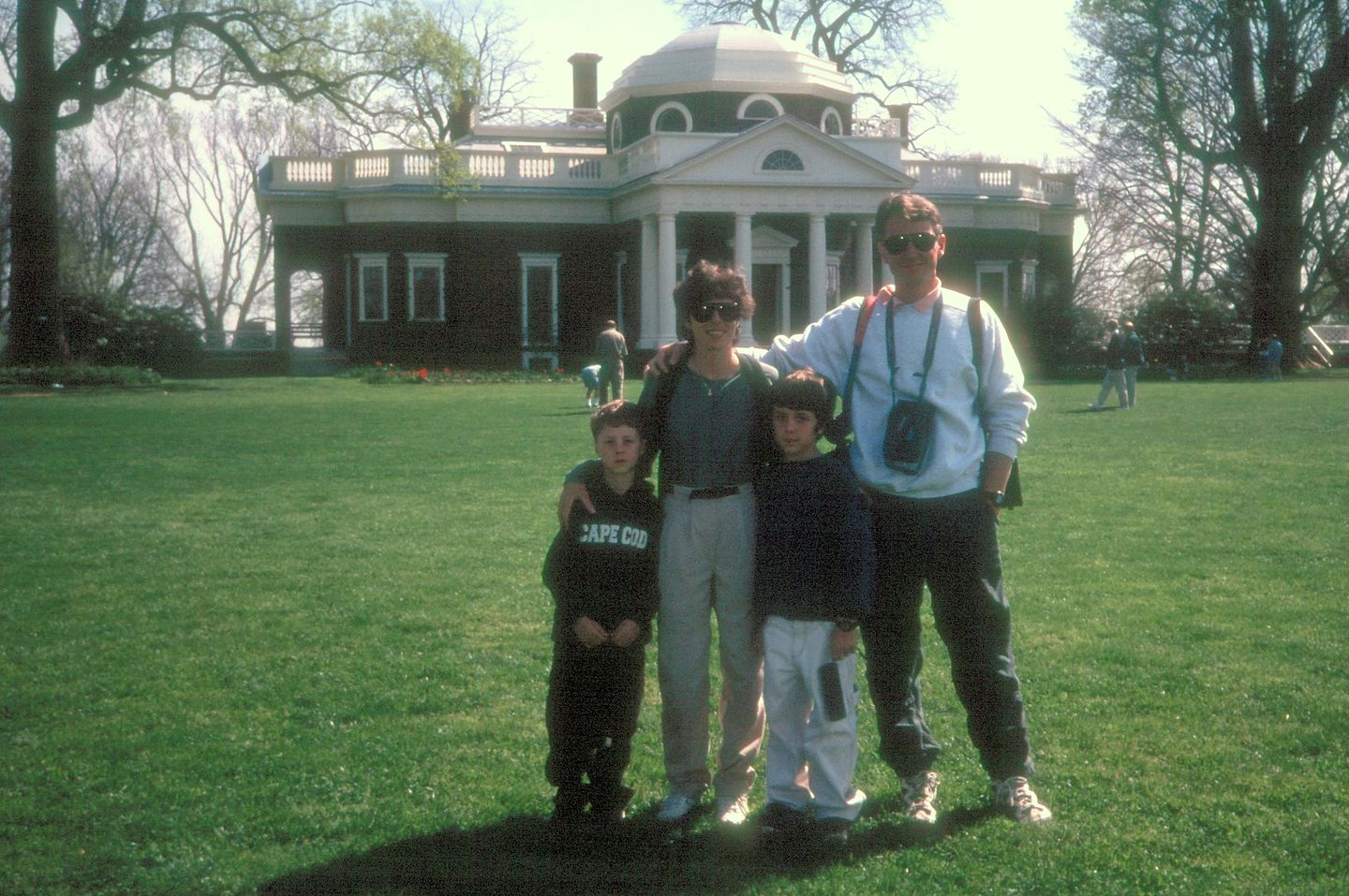 Family at Monticello