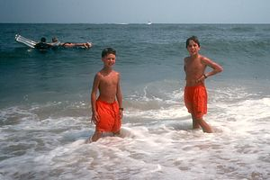 Boys in Virginia Beach Surf
