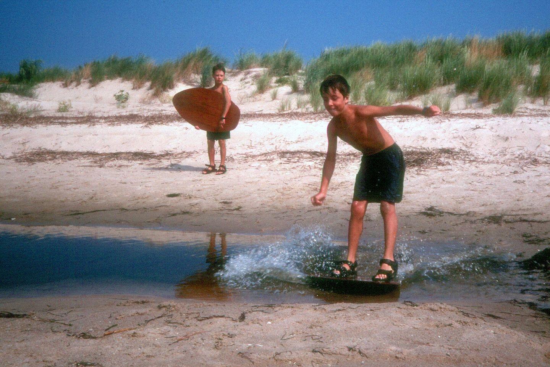 Andrew skim boarding