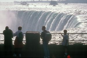 Andrew at Niagara Falls