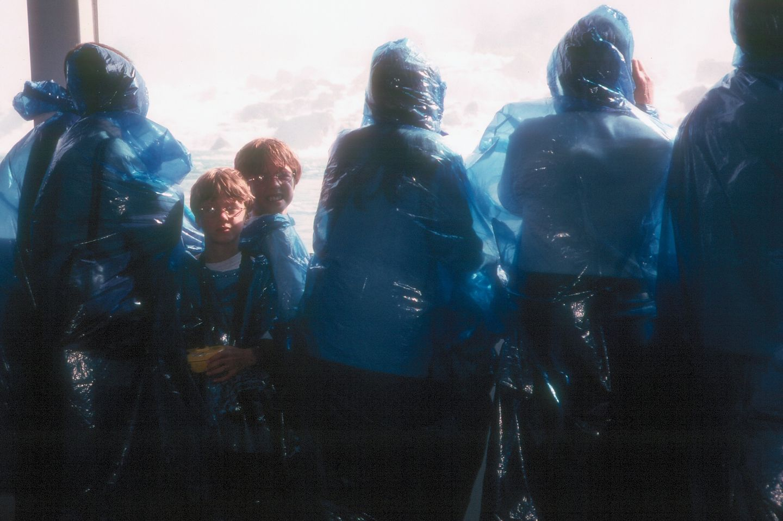 Boys on Maid of the Mist
