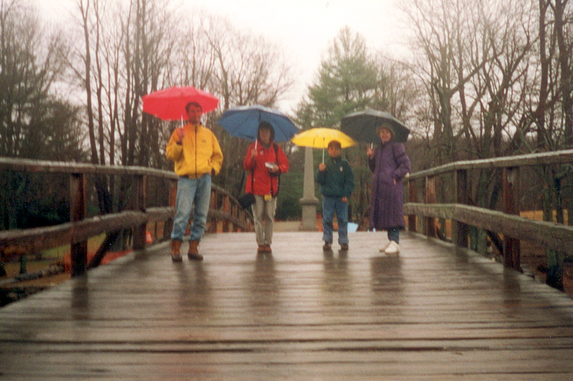 Gang on Old North Bridge