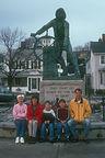 Omi and family at Fishermen's Memorial