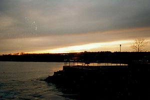 Gloucester sunset