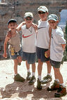 Kids a little too near the North Rim