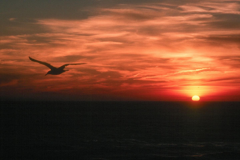 Sunset at Herring Cove Beach