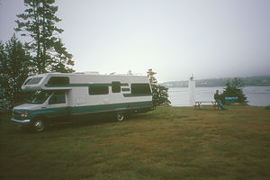 Camping at Deer Island Point
