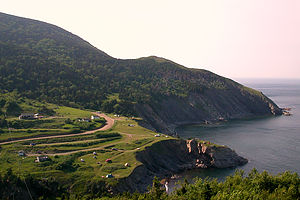 View approaching Meat Cove
