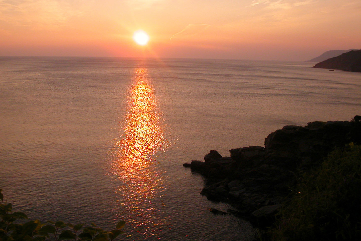 Sunrise over Gulf of St. Lawrence