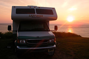 Sunrise at Meat Cove