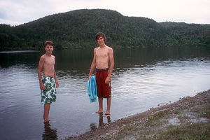 Boys in Spirity Lake