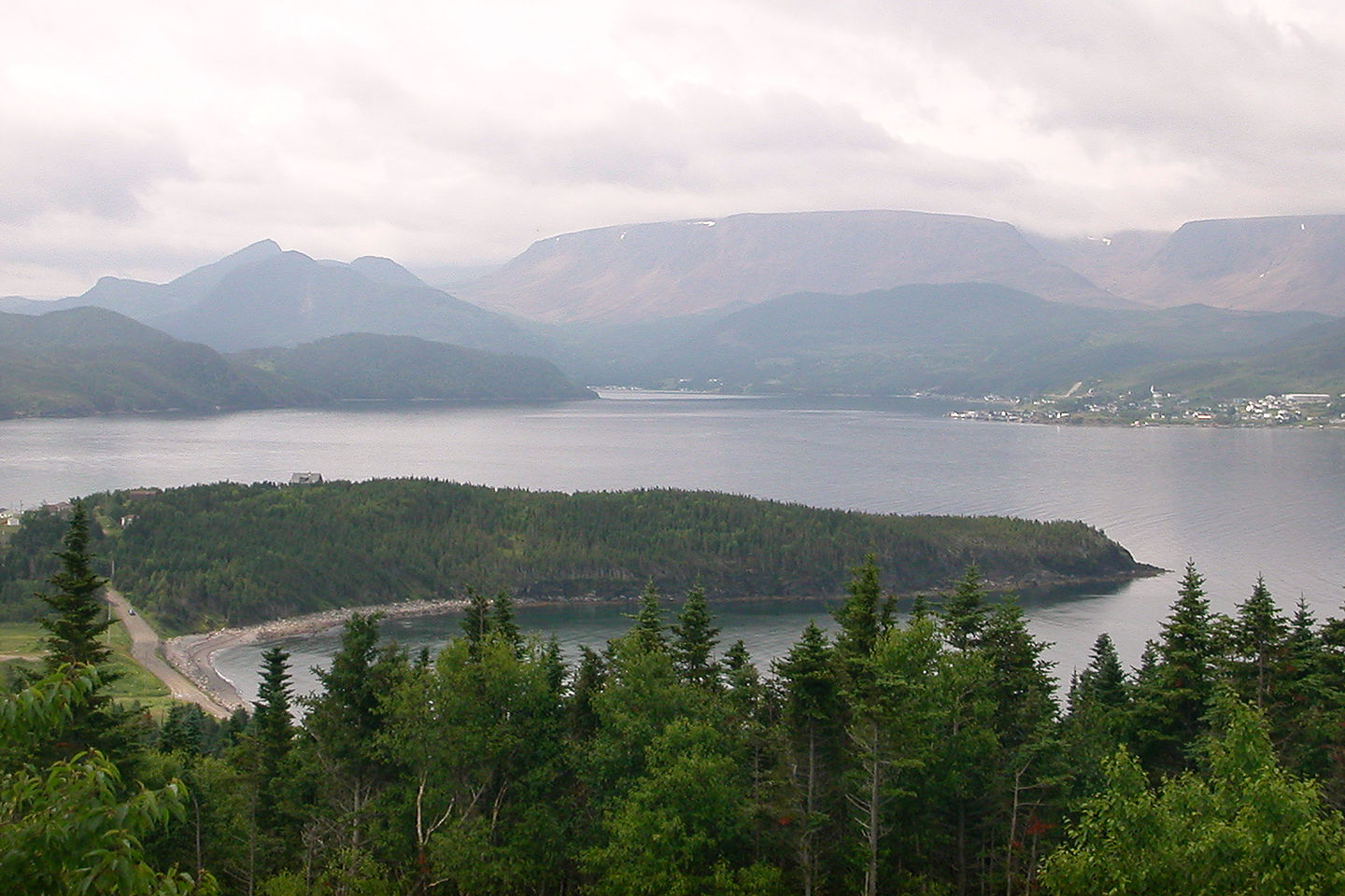 View of Bonne Bay from Photographer's Point