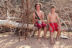 Boys on Rustico Bay Beach