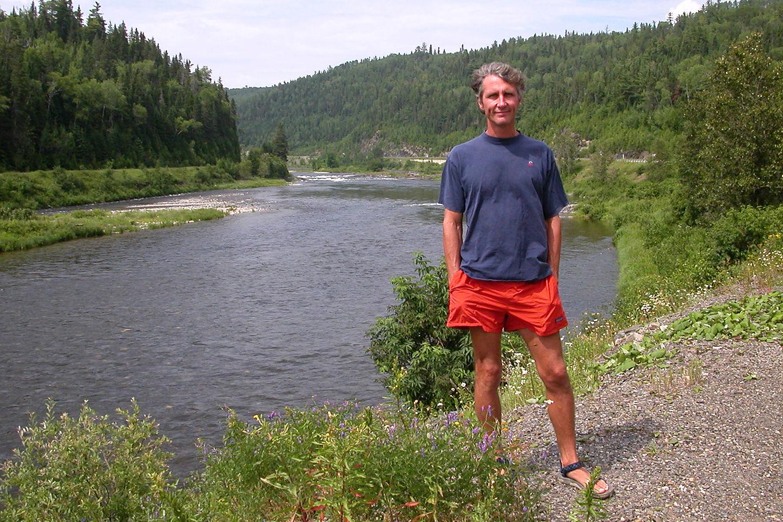 Herb along the Metapedia River
