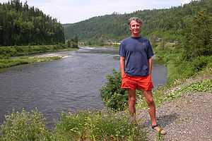 Herb on salmonless river