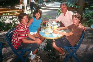 A refreshing break at La Lapin Saute Cafe