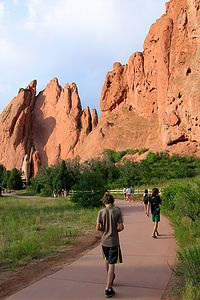 Touring Garden of the Gods