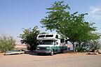 Halls Crossing primitive campground