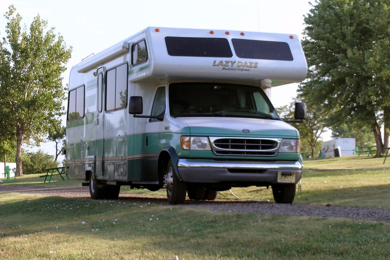 Campsite at Sundowner West