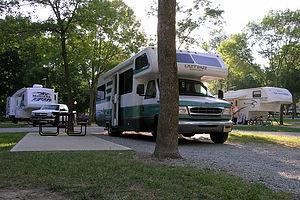 Brookville KOA campsite