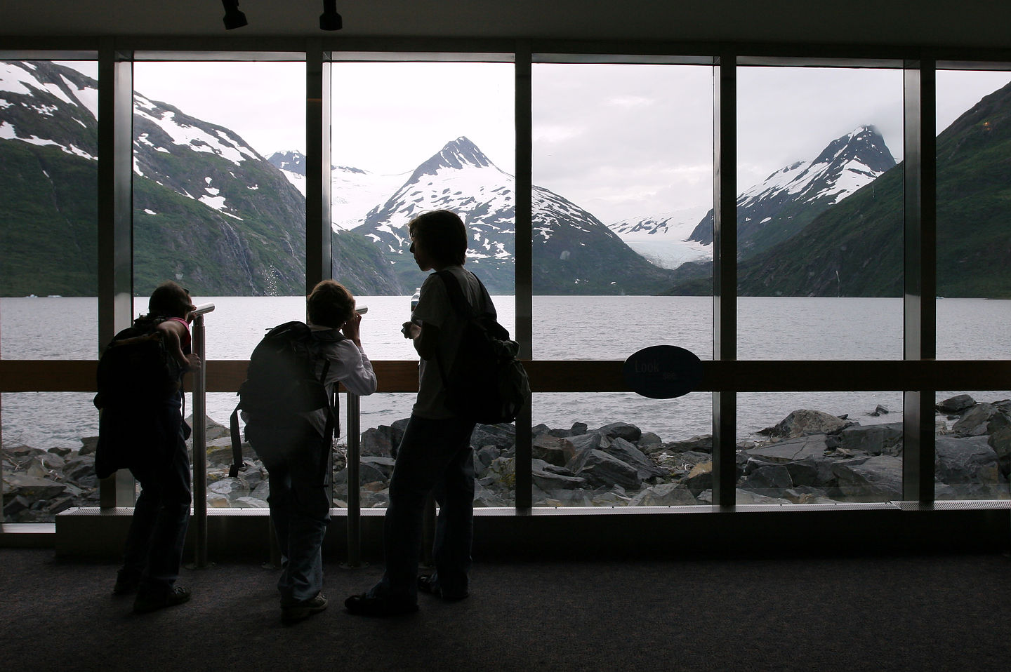 Begich, Boggs Visitor Center View