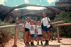 "Family in front of Landscape Arch ""Part 1"""
