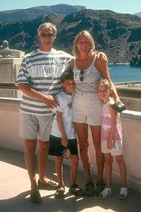 Kalchbrenner Family at Hoover Dam