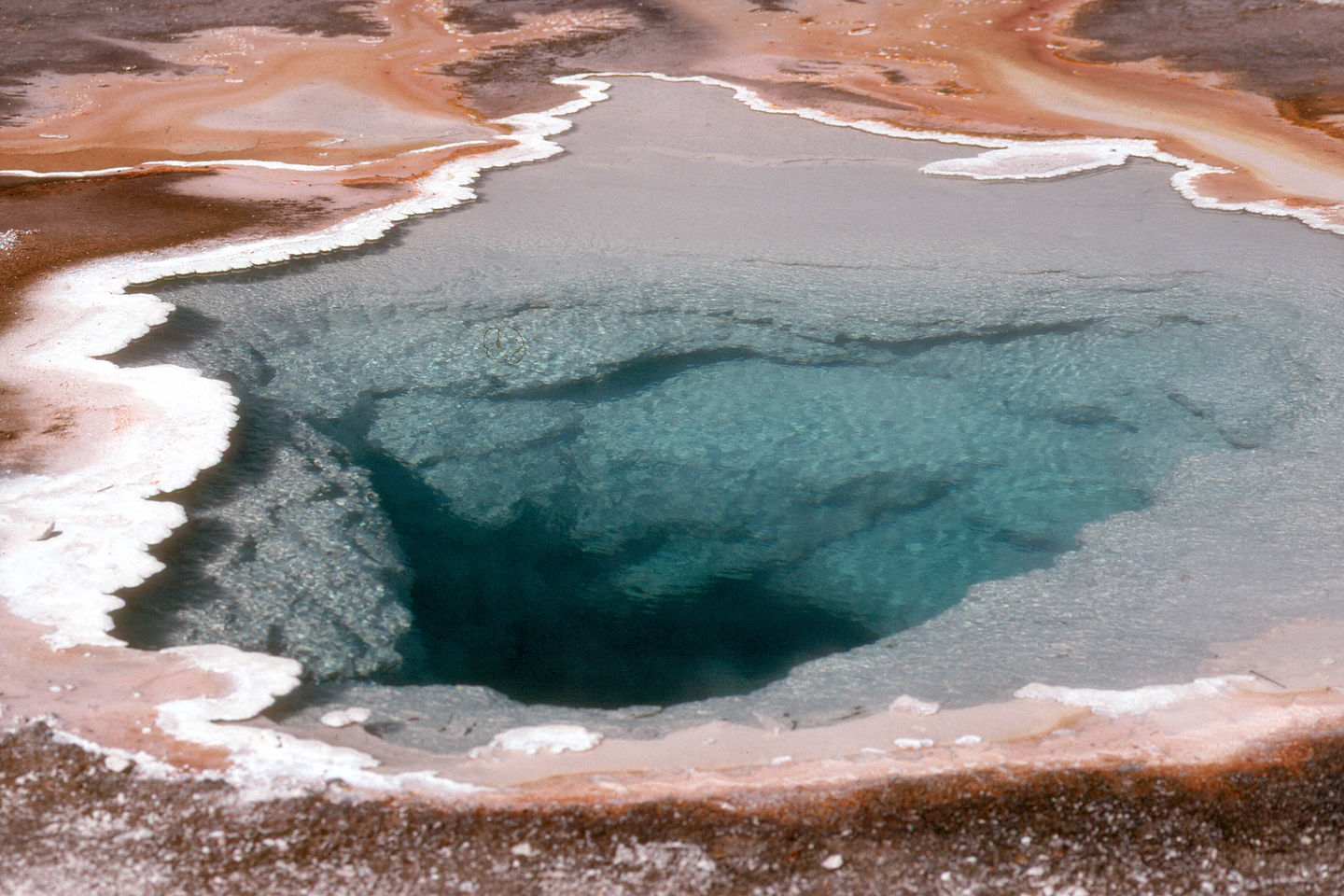 Colorful thermal pool
