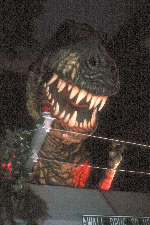 T-Rex in action