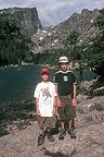 Boys along Emerald Lake Trail