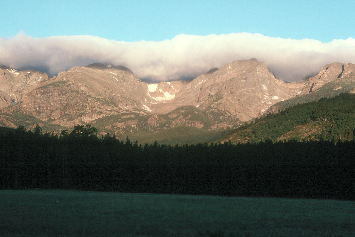 Sunrise at Glacier Basin