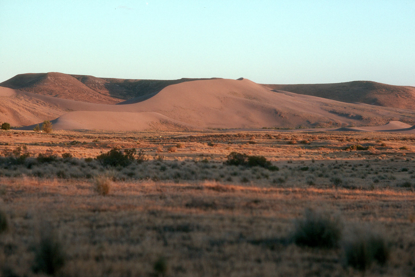 Sunset on Bruneau Dunes