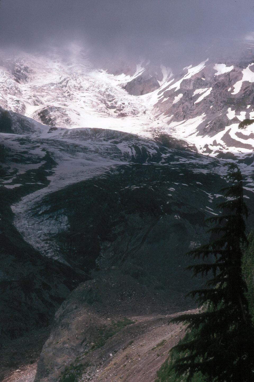 View of Nisqually Glacier