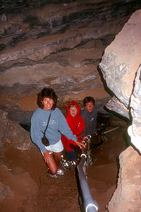 Mom and Young in Cave