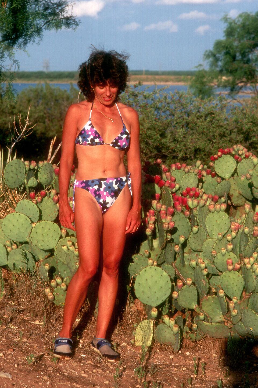 Lolo among the cactus