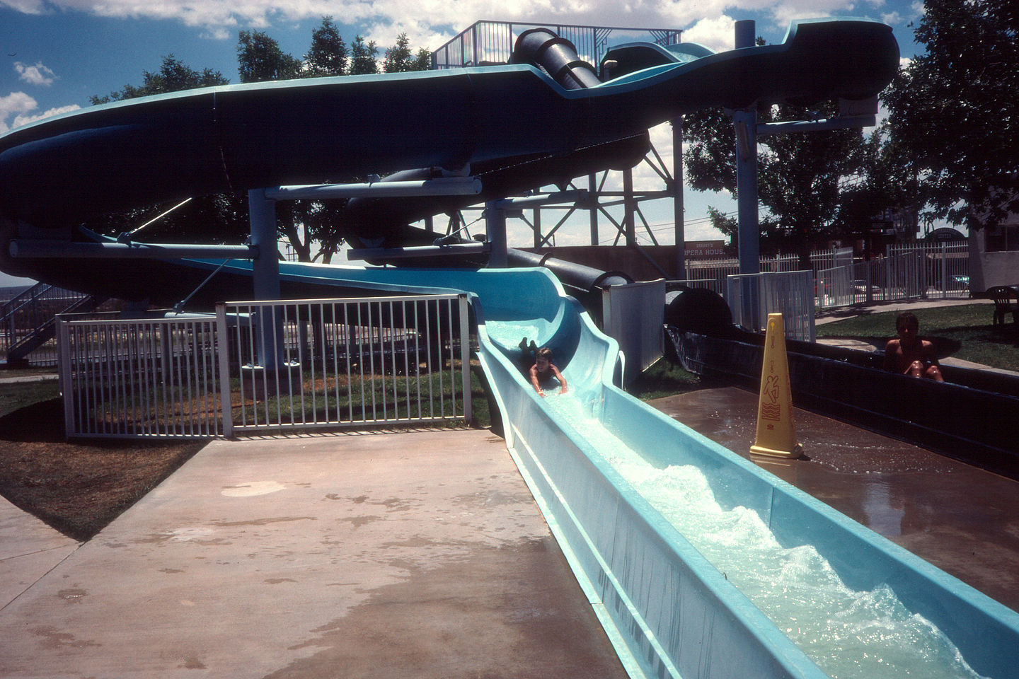 Fun at White City water park