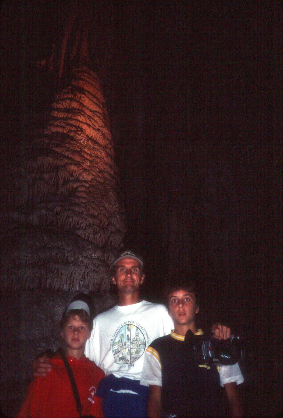Herb and the boys in cave