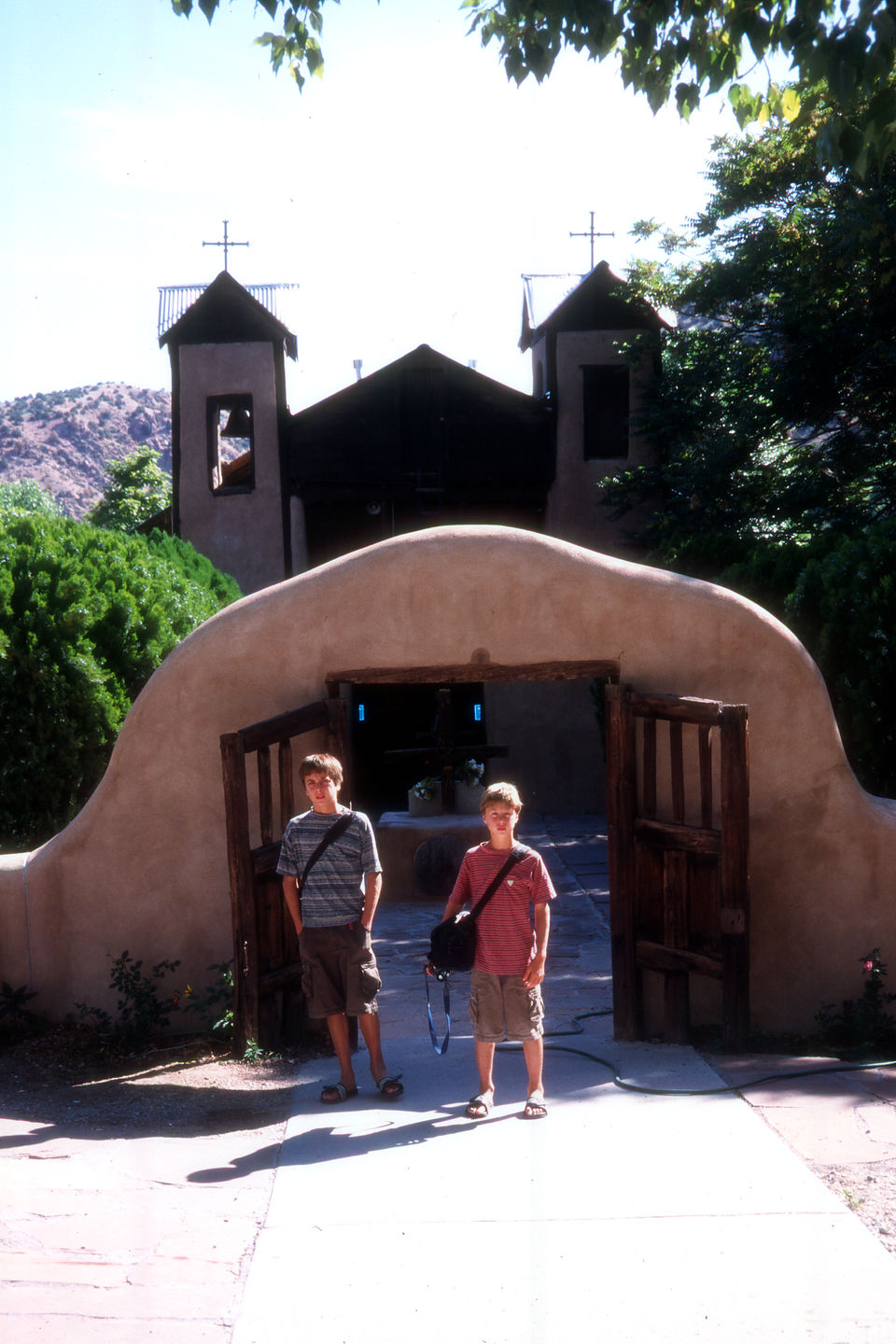 Boys by Sanctuario de Chimayo