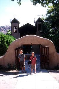 Boys at the Sanctuario