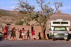 Desert Egyptian family