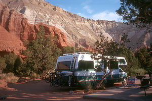 Nice Campsite in Kodachrome Basin