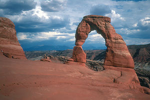The required Delicate Arch photograph