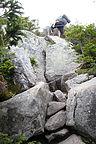 Climbing up to Franconia Ridge
