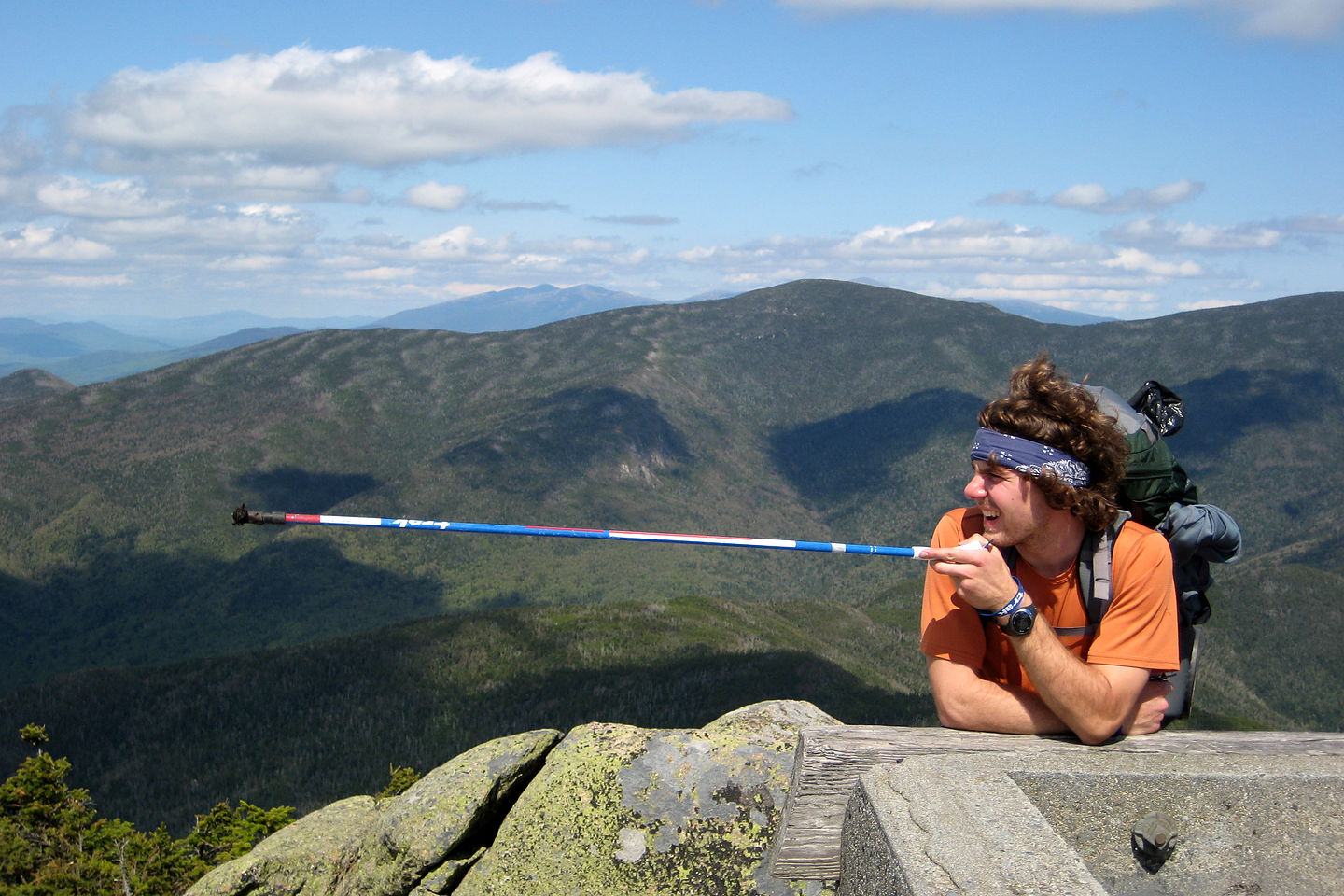 Garfield Ridge - Pointing to Camel's Hump, VT