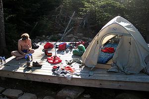 Garfield Ridge Campsite