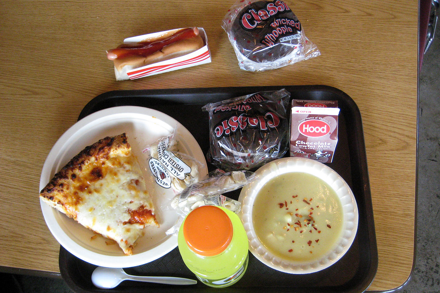Healthy Lunch at Mt. Washington Cafeteria