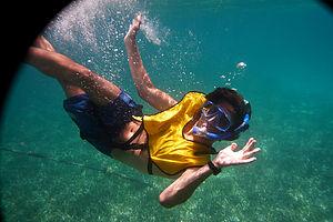 Andrew Snorkeling - TJG