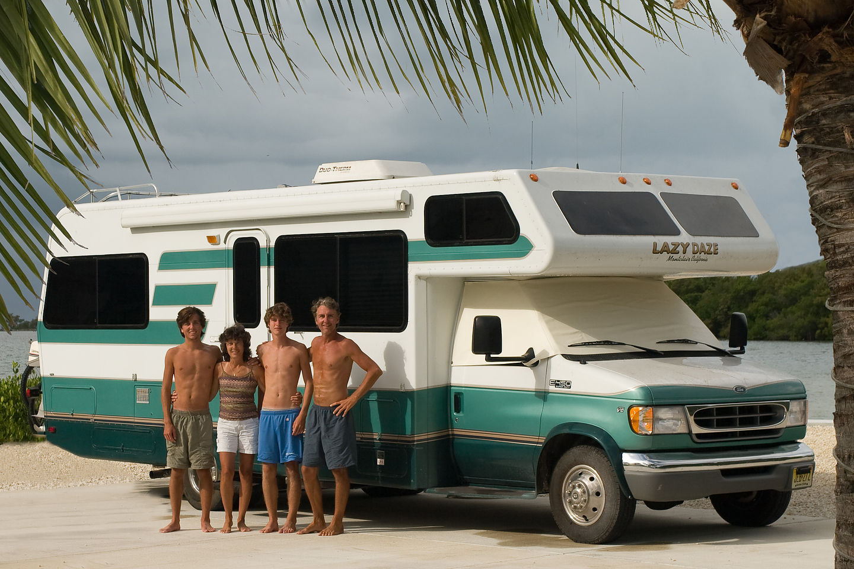 Family & Lazy Daze under Key West Palms